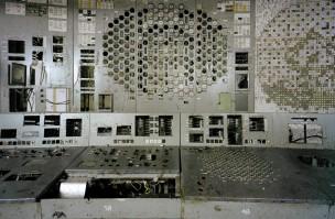 Controlepaneel Reactor 4, Chernobyl, Chernobyl, Rusland, 2000