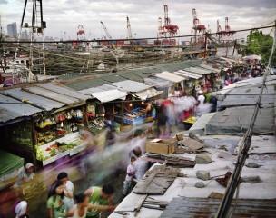 Manilla, Republiek der Filipijnen. Aantal inwoners: 11,9 miljoen