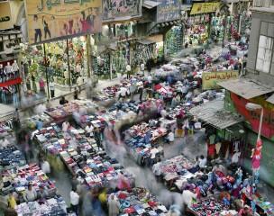 Caïro, Arabische Republiek Egypte. Aantal inwoners: 11,2 miljoen
