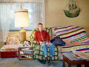 Martin Kay, handelaar in 2e hands fietsen, Las Vegas, Verenigde Staten van Amerika, 2000