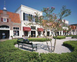 Batavia Stad, outlet shopping center, Lelystad, Nederland, 2011