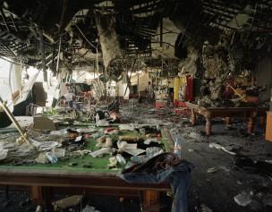 Pool- en gokhal na een terroristische aanslag, Rishion Lezzion, Israël, 2002
