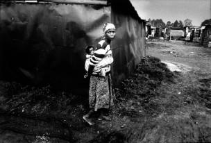 Township Thokoza, Zuid-Afrika, 1993