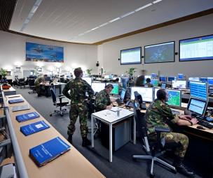 Defensie Luchtgevechtsleiding, Uddel, Nederland
