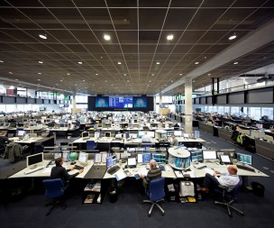 KLM Operations Control Center, Schiphol, Nederland