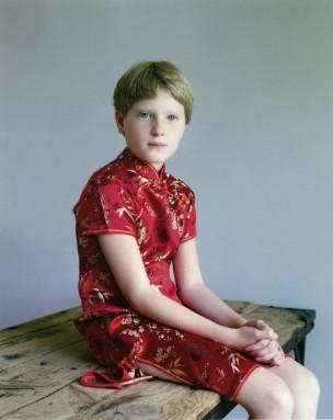 Portret van Bobbie, 10 jaar