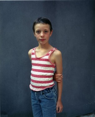 Portret van Eline, 8 jaar