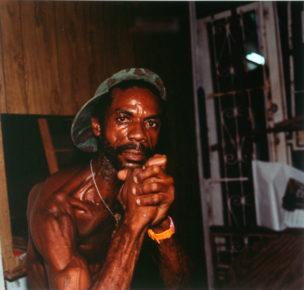 Man, Pietermaai, Zeekant, Curaçao, 1995