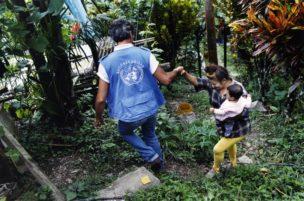 UN HCHR Veldwerker Roberto Mignone, Valle del Cauca, Colombia, 2005