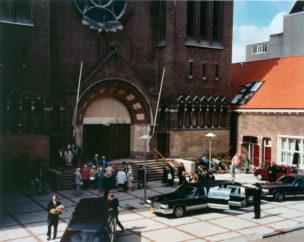 Amsterdam, Begrafenis bij Jacob Obrechtkerk, 1997