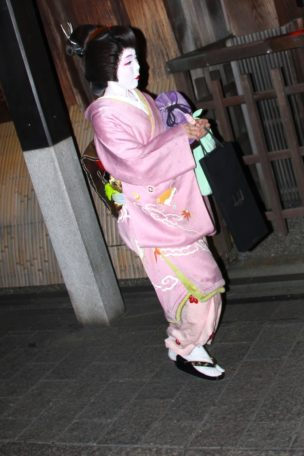 Geisha Ginza district, Kyoto, Japan, 2018