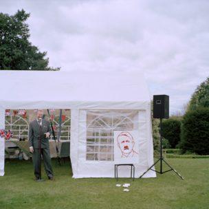 he 1940s Weekend' at Castle Bromwich Hall Gardens, Birmingham, United Kingdom, 2015
