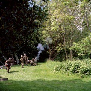 Battle re-enactment, Braintree, United Kingdom, 2015