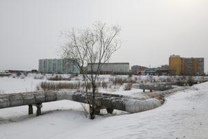 Yakutsk, Siberië, Rusland, 2018