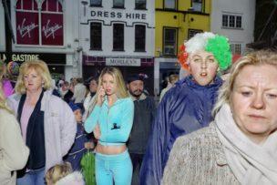 Saint Patrick's Day, Cork, Ierland, 17 maart 2011