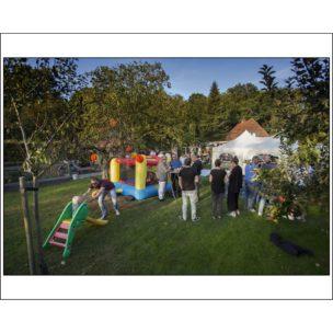 Verjaardagsfeest, Vleuten, Nederland, september 2016