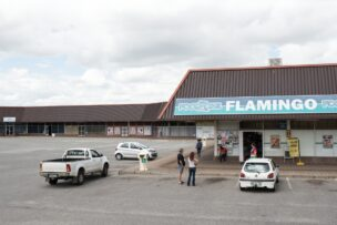 Winkelcentrum Flamingo, Welkom, Zuid-Afrika, 2017