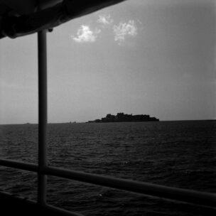 Hashima eiland, ook wel Gunkanjima, Slagschipeiland genoemd, Japan, april 2019